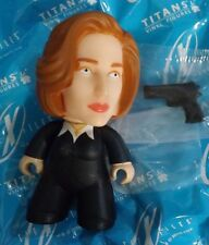"""X-FILES 3"""" VINYL FIGURES TITANS The Truth Is Out There COLLECTION  SCULLY"""