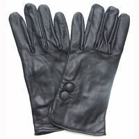 QHA Mens Soft Real Leather Fashion Winter Driving Gloves Q2