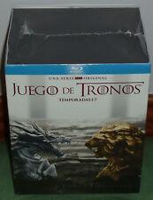 JUEGO DE TRONOS 1-7 TEMPORADAS COMPLETAS 30 BLU-RAY NUEVO SERIE (SIN ABRIR) R2