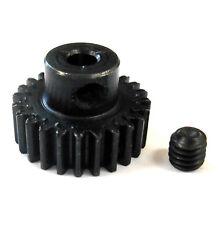 L624 Module 0.6 0.6M 24T 24 Teeth Tooth Motor Pinion Gear Black 540 3.17mm Bore