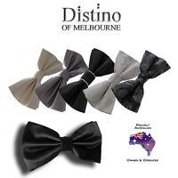 MENS BOW TIE - Pre-tied Bowties for Wedding, Formal, Tuxedo Men's Pretied