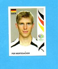 PANINI-GERMANY 2006-Figurina n.23- MERTESACKER - GERMANIA -NEW BLACK