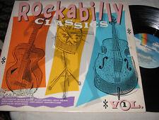 Rockabilly Classics Volume 1 LP COMPILATION dale hawkins rockin' saints holly
