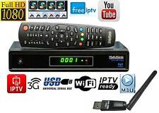Medi@link Smart Home Hybrid DVB-S2 FTA + IPTV Digital Sat Receiver FullHD 3D TOP