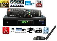 Medi@link Smart Home Hybrid DVB-S2 FTA + IPTV Digital Sat Receiver FullHD 3D TOP