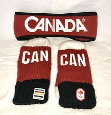 PyeongChang 2018 Team Canada Winter Olympic Mittens - Size S/M - NEW