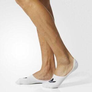 Adidas Originals Low Cut Sock White 1-pair BK5845 Men New no show sz 9-11