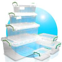 Aufbewahrungsbox Multibox Stapelbox Box Deckel 0,6L 1,2L 1,75L 2L 3L 5L 8,5L