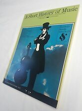 Short History of Music by Alfred Einstein (softcover) free shipping
