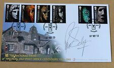 BRITISH MUSEUM TINTAGEL POST OFFICE 2003 BUCKINGHAM FDC SIGNED PHILLIP SCHOFIELD