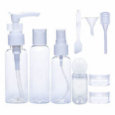 Airline Travel Bottle Set Carry On Luggage Toiletries Liquid Container Makeup