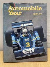 Automobile Year 1976/77 Hardback Book Number 24