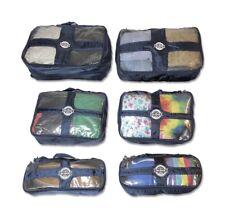 6 PCS Travel Packing Cubes Organizer Storage Water Resistant Expandable