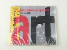 RALPH PETERSON QUINTET - ART - CD JAPAN 1993 WITH OBI TOCJ 5551 - NUOVO! NEW!