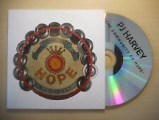 PJ HARVEY : THE COMMUNITY OF HOPE *RARE FRENCH PROMO* [ CD SINGLE ]