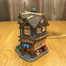 Lemax Christmas Village Collection Post Office Barkley St. Holiday Lighted