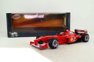 Hot Wheels 1:18; Ferrari F1; 2000 Australian GP 1st; Schumacher; Very Good Boxed