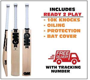 GM 303 English Willow Cricket Bat SENIOR +AU Stock + $150 Extras (Ready to play)