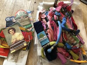 Vintage Sewing Items - Job Lot Anchor Sewing Thread - 50 Plus
