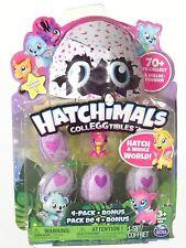 Hatchimals CollEGGtibles 4-Pack + Bonus   See Your Bonus & Colors Before Buying!