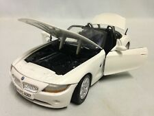 Bmw Z4 Collectibles, 7 inch Diecast, 1:24 Scale By MotorMax Toys, White