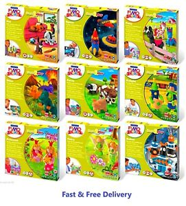 FIMO Kids Form & Play n Funny Kits Clay Modelling Sets - Imagine, Create & Learn