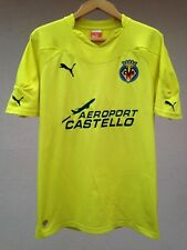 VILLARREAL CF 2010/2011 HOME FOOTBALL SOCCER SHIRT JERSEY CAMISETA PUMA MAGLIA