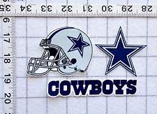 Dallas COWBOYS NFL Iron On Fabric Applique LOGO No Sew
