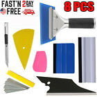 Car Window Tint Tools Kit Scraper Squeegee For Auto Film Tinting Installation Us