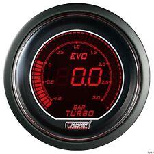 PROSPORT 52mm EVO Series Digital Red / Blue Led Boost Gauge BAR