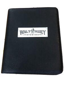 Disney Walt Disney Studios Black Journal Lined Paper Mickey Mouse Ephemera