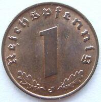 TOP! 1 Pf 1937 J in STEMPELGLANZ SELTEN !!!