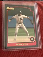 2003 Bowman Gold #2 Derek Jeter Black Border