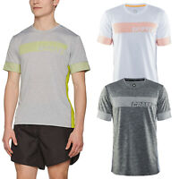 Craft Mens Breakaway T-Shirt Short Sleeve Round Neck Lightweight Running Cycling