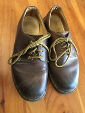 Dr. Martens Original Brown Leather 5 1561/59 4 eye Oxfords Docs Made in England