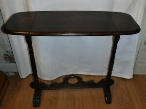 Vintage Wooden Side Table Oblong