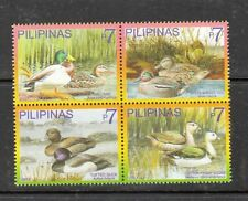 Philippine Stamps 2007 Philippine Wild Ducks Block of 4 MNH