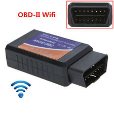 ELM327 WiFi OBDII Car Diagnostics Scanner Code Reader For iPhone& iOS Android