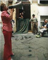Foto autografata Lina Wermuller Signed Autografo Cinema Wertmüller Premio Oscar
