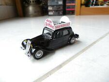 Citroen Traction Avant 11 Nougat des champions Montelimar Eligor 1/43 Miniature