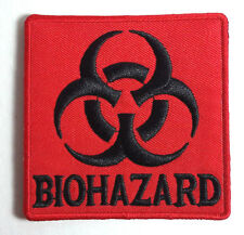 """Resident Evil Biohazard Red Logo- 3"""" Embroidered Patch- USA Mailed(REPA-115)"""