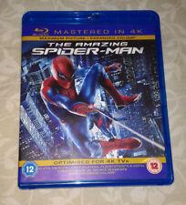 The Amazing Spider-man 1 y 2 Blu Ray 2 discos (USA con audio español latino)