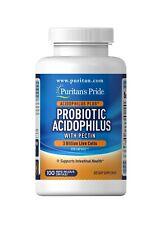 Puritan's Pride Probiotic Acidophilus with Pectin 100 Capsules Digestive Health