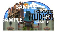 Disney Hollywood Studios Entrance Scrapbook Paper Die Cut Piece