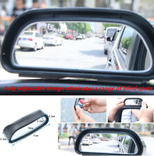 2PCS Car Rearview Mirror Blind Spot Side Wide Angle View HD Glass Driving Safety
