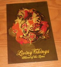 Living Things Ahead of the Lions Sticker 2-Sided Original 2005 Promo 6x4