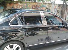 Mercedes Classe C W204 cadre de fenêtre Bordure Housse 4 portes 6 pièces en acier inoxydable