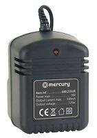 Mercury Unregulated 12V 500mA 12Vac AC UK Mains Power Supply Adaptor 6W