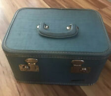 Vintage Monarch Travel Cosmetic Suitcase