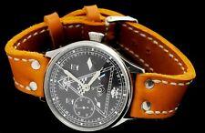 VINTAGE WATCH MOLNIYA LARGE Soviet wristwatch  MASONIC Mason  Skeleton steampunk